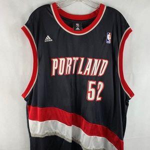 Adidas NBA Greg Oden Jersey Portland Trailblazers